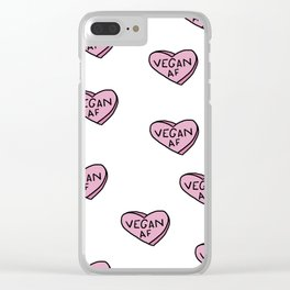 Vegan AF Clear iPhone Case