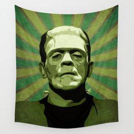 Frankenstein - Pop Art Wandbehang