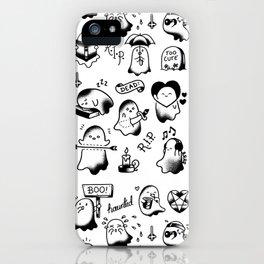 Ghosties iPhone Case