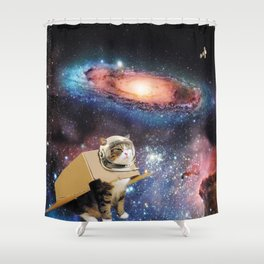Multidimensional Universal Traverler Shower Curtain