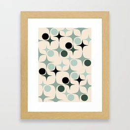 RETRO Pattern  #society6 #decor #buyart Framed Art Print