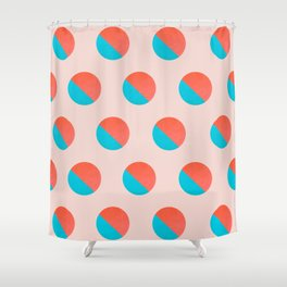 Abstraction_DOT_LOVE_002 Shower Curtain
