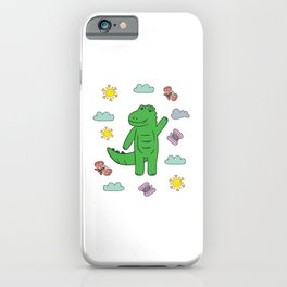 Baby Kids Crocodile I Toddler Crocodile Motif iPhone Case