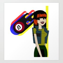 Burners Julie Kane Art Print