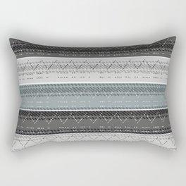 Morse Code Stripe Rectangular Pillow