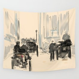 London To Brighton Wall Tapestry