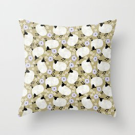 wooly Throw Pillow