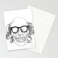 My best friend, Death Stationery Cards
