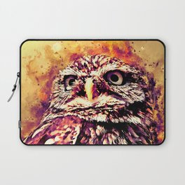 owl portrait 5 wslsh Laptop Sleeve