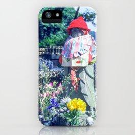 Jizo monk statue - Japan iPhone Case