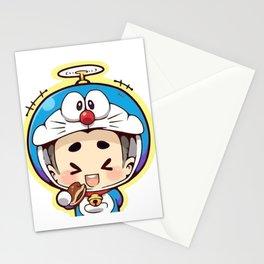 Doraemon chibi cosplay Stationery Cards