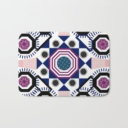 Mixed Emotions Mandala Bath Mat
