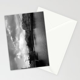Scottish Highlands Ben Nevis from Caledonian Canal B & W Stationery Cards