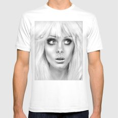 + BAMBI EYES + Mens Fitted Tee MEDIUM White