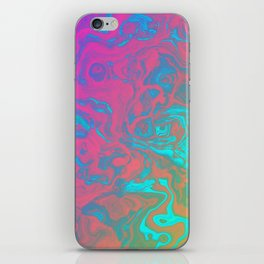 Psychedelic Pool iPhone Skin