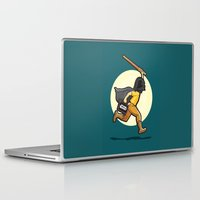 harry Laptop & iPad Skins featuring Darth Harry by Rabassa