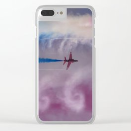 Colorful smokes Clear iPhone Case