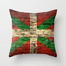 Ikurriña Throw Pillow
