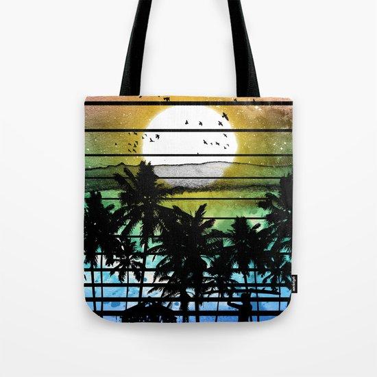 VIVID STRIPES Tote Bag