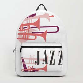 Jazz Big Band Homage Poster Design, For Jazz Musicians and Lovers, Original Design, tshirt, tee, jer Backpack