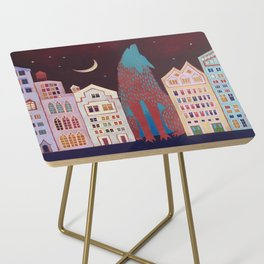 Sounds of the City Side Table