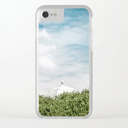 Behind bushes Clear iPhone Case