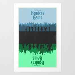 Futurama - Bender's Game Art Print