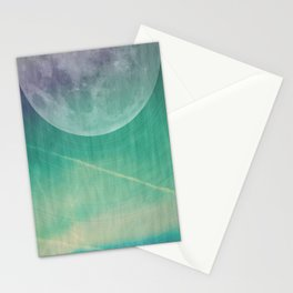Lunar Radiation Stationery Cards