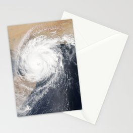 Tropical Cyclone Chapala Over the Gulf of Aden Stationery Cards