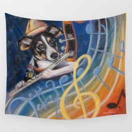 Jazz to the Bone Wall Tapestry