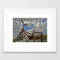 amelie Framed Art Prints featuring Amelie by Joe Pansa
