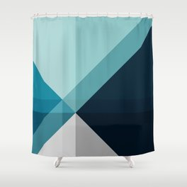 Geometric 1704 Shower Curtain