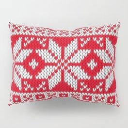 Winter knitted pattern 3 Pillow Sham