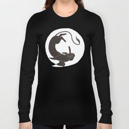 Sphinx Circle Long Sleeve T-shirt