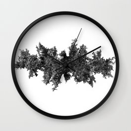 Rorschach Wall Clock