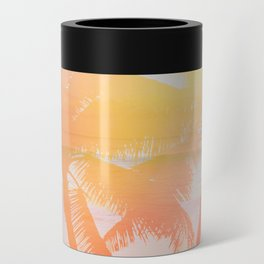 Tropicana seas - sundown Can Cooler