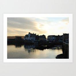Millport at dusk Art Print