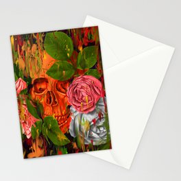 Colors of Death Stationery Cards
