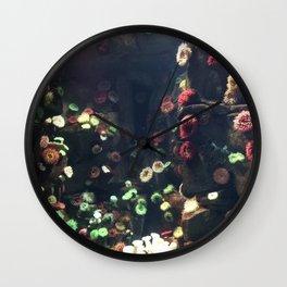 Coral Wall Wall Clock