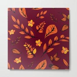 Flower Design Series 22 Metal Print
