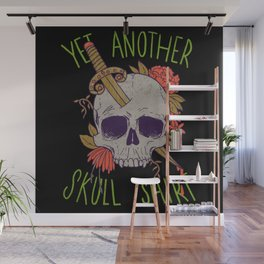 Yet Another Skull Shirt Wall Mural