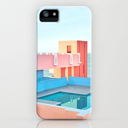 Muralla Roja iPhone Case