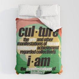 CULTURALLY SPEAKING Comforters