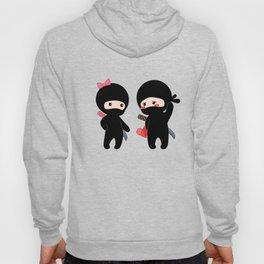 Tiny Ninja Boy and Girl Hoody