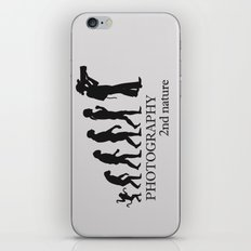 The Evolution of the Photographer iPhone & iPod Skin