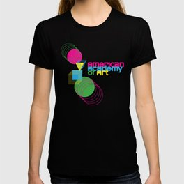 American Academy of Art Geometric Print  T-shirt