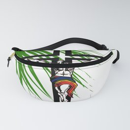 The Holy Week Christs Journey To The Cross Fanny Pack