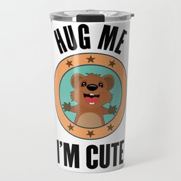 Quokka Australia Kangaroo Marsupial Hug Me Gift Travel Mug