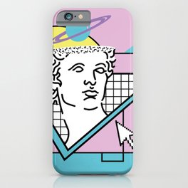 Apollo - Vaporwave - 80s iPhone Case
