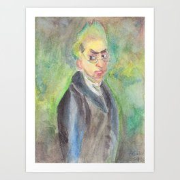 George Chinnery, painter  Art Print